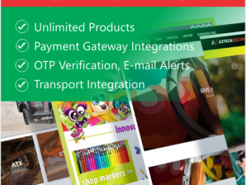 e-commerce advanced package features